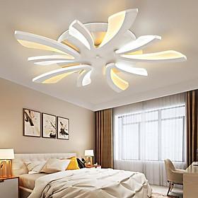 Đèn ốp trần trang trí phòng khách và phòng ngủ kiểu mẫu hiện đại có điều khiển.