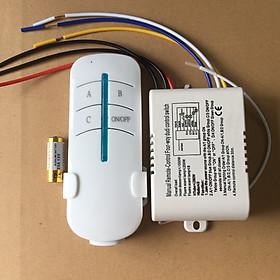 Bộ điều khiển thiết bị điện từ xa 3 kênh 220VAC