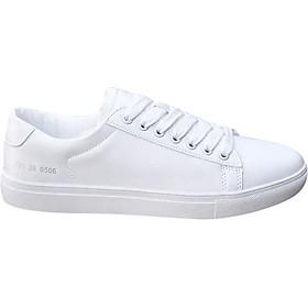 Giày Sneaker Unisex Đế Bằng Gót Chữ Số Hapu