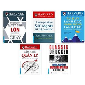 Combo Lãnh đạo tiên phong - Harvard Business Review (5 cuốn) - FirstNews