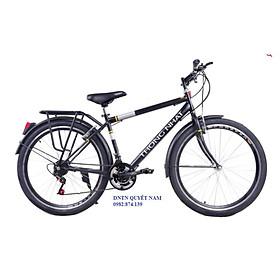 Xe đạp địa hình Thống Nhất MTB26-05 đen mờ - Hàng chính hãng