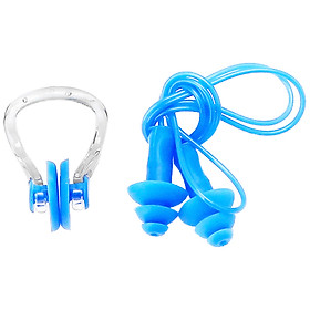 Nhét tai có dây đeo + kẹp mũi khi bơi NK03 Sportslink