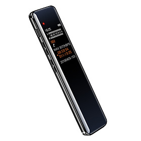 Small 32GB Digital Voice Recorder Voice Activated Recording Device Audio Recorder Dictaphone MP3 Music Player Support