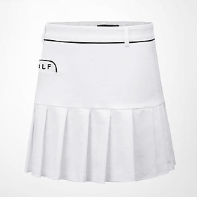 Golf Clothes for Women Anti-emptied Pantskirt Cotton Soft Breathable Sweat Absorbtion Skirt