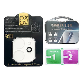 Kính Cường Lực Camera Cho IPhone 11, 11Pro, 11ProMax Loại A (Full Box) - DT066