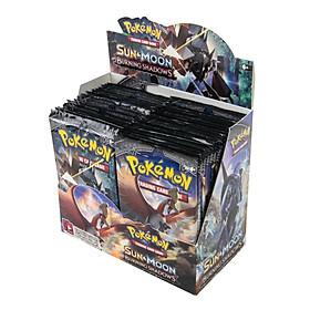 Bộ Thẻ Bài Pokemon 324 Thẻ Trading Card Game Sun&Moon Burning Shadow TCG Sưu Tập Đẹp Đọc Đáo
