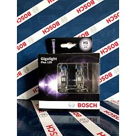 Bóng đèn tăng sáng Bosch. H1 12V 55W Plus 120% . Hộp 2 bóng đèn sương mù , đèn cốt ,  đèn pha