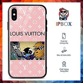 Ốp Đt In Hình LV IPBOX Cho Iphone 11/12/12Promax/Mini/X/Xs/Xr/Se
