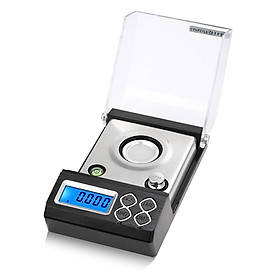High Precision Professional Digital Milligram Scale 50g/0.001g Mini Electronic Balance Powder Scale Gold Jewelry Carat