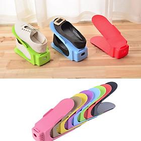 Combo 3 Giá Kệ Để Giày 3 Màu Tích Hợp Khay Cố Định Giày Thông Minh Tiện Lợi Tiết Kiệm Không Gian
