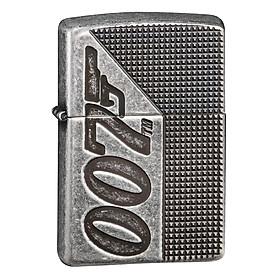 Bật Lửa Zippo 49033 – Zippo Armor James Bond 007 Antique Silver Plate