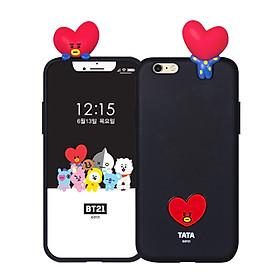 Ốp lưng bảo vệ điện thoại iPhone/Samsung BT21 Bbakkom Phone Case for iPhone/Galaxy