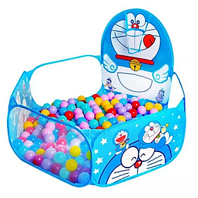 Lều bóng vui chơi cho trẻ em tặng kèm 100 bóng nhựa nhiều màu sắc