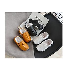 Giày da đế khâu dành cho bé DA01
