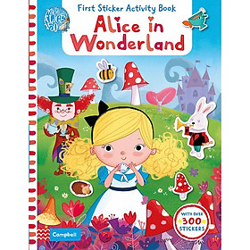 Cambell First Sticker Activity Book: Alice in Wonderland (The Macmillan Alice 150 Years)