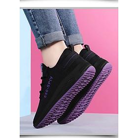 """Giầy thể thao nữ, giày sneaker nữ buộc dây V202 giá chỉ còn <strong class=""""price"""">71.000đ</strong>"""