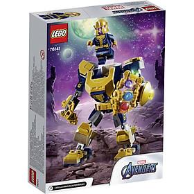 Mô Hình Lắp Ráp LEGO SUPERHEROES Chiến Giáp Thanos 76141 (152 Chi Tiết)