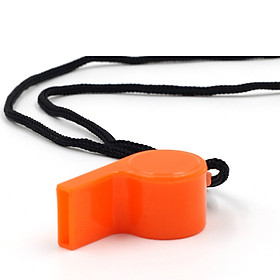 Còi nhựa thể thao màu cam