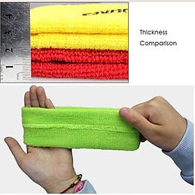 Combo 1 băng trán và 1 đôi băng cổ tay AOLIKES YE-2108-0230 thấm mồ hôi cao cấp khi chơi thể thao - Hàng Chính Hãng-4
