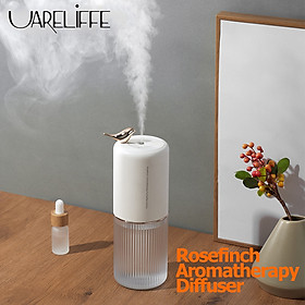 Uareliffe Car Aromatherapy Humidifier Portable Household Air Humidifier Aroma Essential Oil Diffuser Water Atomizer 400ml Water Aromatherapy Air Purifier With LED Night Light