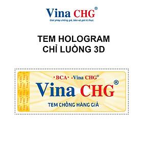 Tem Hologram chỉ luồng 3D - Vina CHG