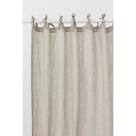 1 rèm cửa vải canvas mỏng vừa buộc dây nhỏ