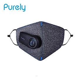 Purely KN95 Anti-haze Air Sport Mask Electric Fresh Face Mask PM2.5 Dust Superior Purification 3D Free Breathable Face