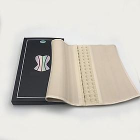 Đai nịt bụng Latex 25 xương cao 25cm cho người cao dưới 1m60 hàng nhập khẩu cao cấp