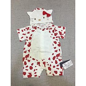 Body đùi hình thú cho bé sơ sinh, quần áo cho bé sơ sinh mùa hè