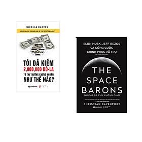 Combo 2 cuốn sách: Tôi Đã Kiếm 2.000.000 Đô La Từ Thị Trường Chứng Khoán Như Thế Nào + Những Bá Chủ Không Gian (Bìa Cứng)