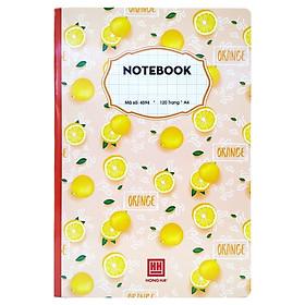 Sổ Notebook Hồng Hà Ô Ly 120 Trang A4 4594