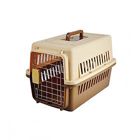 Lồng vận chuyển hàng không đây đủ phụ kiện cho thú cưng - Genyo pet carrier 003 (màu ngẫu nhiên)