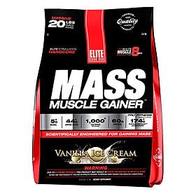 Sữa Tăng Cân Vị Vani Mass Muscle Gainer Elite Labs SMEL102 (9.09kg)