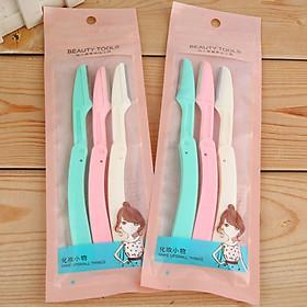 Combo 3 Dao Cạo Râu , Lông Mày Tay Chân Beauty Tools Đa Năng Nhỏ Gọn TIện Lợi Dễ Dàng Mang Theo Khi Ra Ngoài MP008