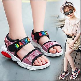Dép sandal bé gái 3 - 13 tuổi quai ngang xinh xắn - SHONG61