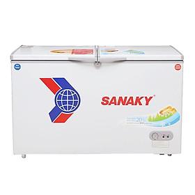 TỦ ĐÔNG MÁT SANAKY 195 LÍT VH-2599W1 ĐỒNG (R600A) - hàng chính hãng - chỉ giao HCM