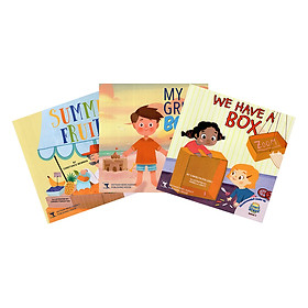 Readers For i-Learn Smart Start Level 1: My Great Body, Summer Fruits, We Have A Box