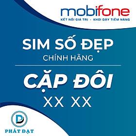 Sim Cặp Đôi phong thủy chính hãng Mobifone tặng Cáp 3in1