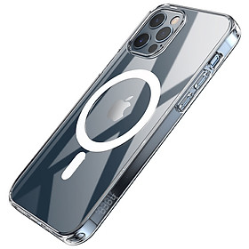 Ốp Lưng Case  Hoco Magsafe Trong Suốt Dành Cho iPhone 12 mini / iPhone 12 / iPhone 12 Pro / iPhone 12 Promax_ Hàng Chính Hãng