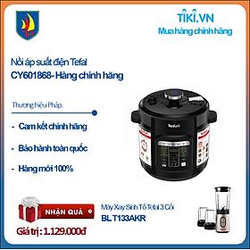 Nồi áp suất điện Tefal CY601868- Hàng chính hãng