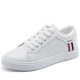 Giày thể thao nam - giày sneaker nam mầu trắng phong cách ST009W