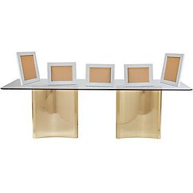 Set 5 khung hình 13x18 màu trắng đặt bàn