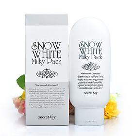 Kem Làm Trắng Mặt Và Toàn Thân Secret Key Snow White Milky Pack 200g