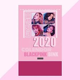 Lịch 2020 Black pink để bàn nhóm nhạc
