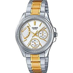 Đồng hồ nữ dây thép không gỉ Casio LTP-2089SG-7AVDF