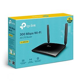 Bộ Phát Wifi Router 4G LTE TP-Link TL-MR6400 - Hàng Chính Hãng