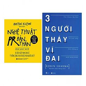 Combo Nghệ Thuật PR Bản Thân (Tái Bản 2018) + Ba Người Thầy Vĩ Đại (Tái Bản)