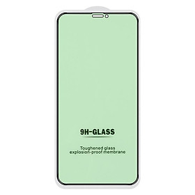 Tempered Glass Film For Iphone 12 Anti-myopia Green Light Full-screen Mobile Phone Protective Film