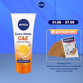 Sữa Dưỡng Thể Dưỡng Trắng Nivea NIVEA EXTRA WHITE C & E VITAMIN - 180ML - 84374
