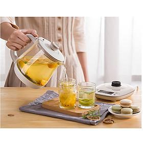 Ấm pha trà đun trà thủy tinh